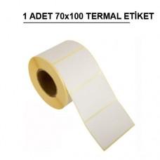 70 x 100 TERMAL TERAZİ ETİKETİ (500) SARIM