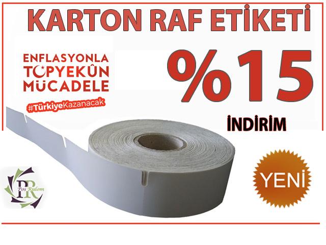 KARTON RAF ETİKETİ