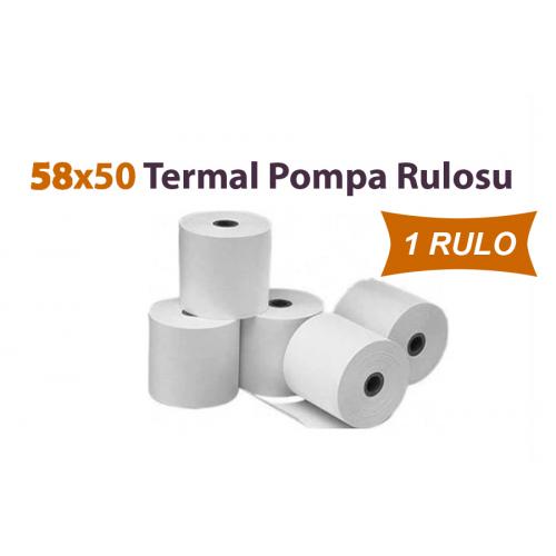 58 x 50 Termal Pompa Rulosu 1 Rulo